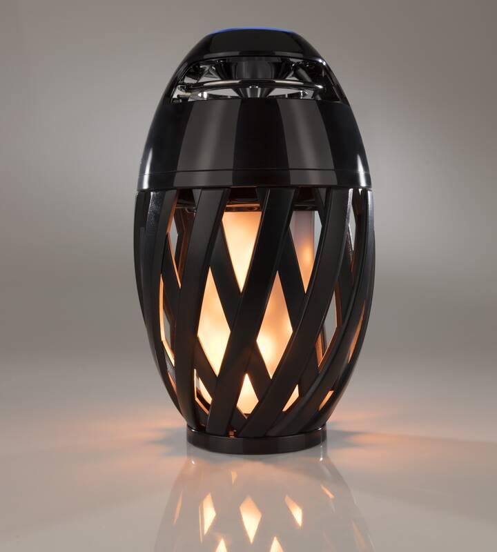 Luceco Bluetooth Lautsprecher mit Flammeneffekt