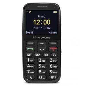Doro Großtastenhandy Primo 366 schwarz, mit Tischladefunktion, Bluetooth, Taschenlampe, FM-Radio, Stand-by-Zeit bis 12 Tage