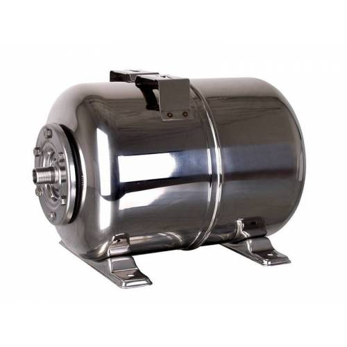 T.I.P. Hauswasserwerk Druckkessel Membrankessel Edelstahl 24 L 33,25 mm (1 AG)
