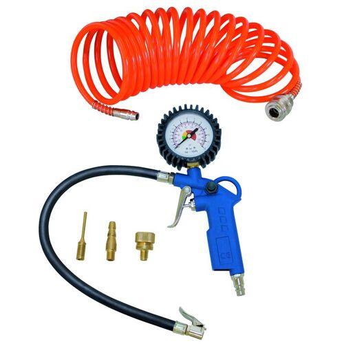 Scheppach Druckluft Werkzeug-Set, 5-teilig