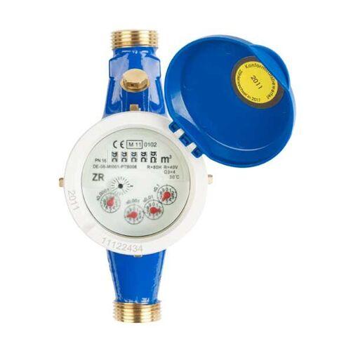 Mehrstrahl Wasserzähler für Kaltwasser QN 2,5/ 190 mm/ R 3/4