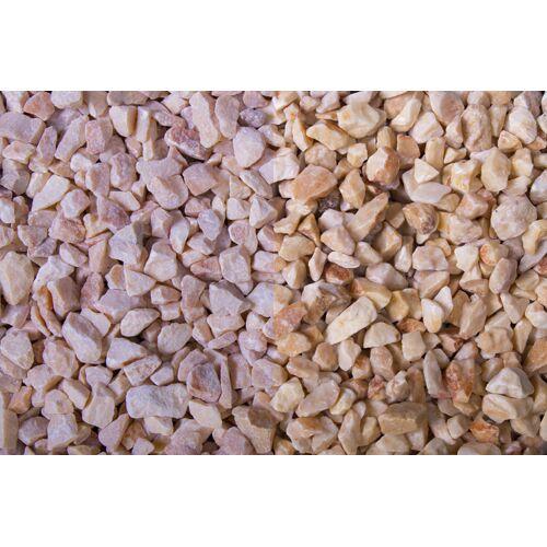 Gartenmeister Edelsplitt Marmor Mandarin Splitt, 7-12, 250 kg Big Bag