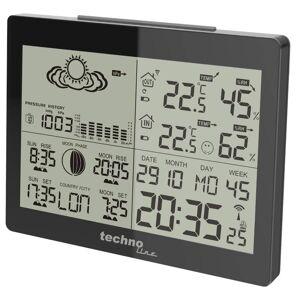 Techno Line Wetterstation WS 6760 in Hochglanz-Optik