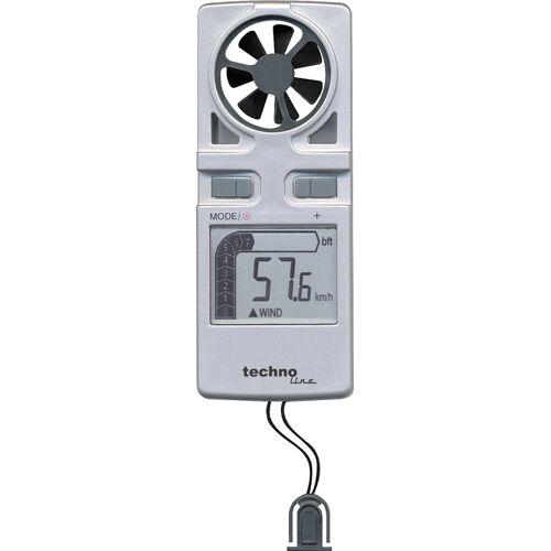 Techno Line Windmesser EA 3010 mit Temperaturanzeige