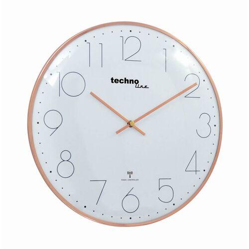 Techno Line Funk-Wanduhr WT 8240 rose-gold