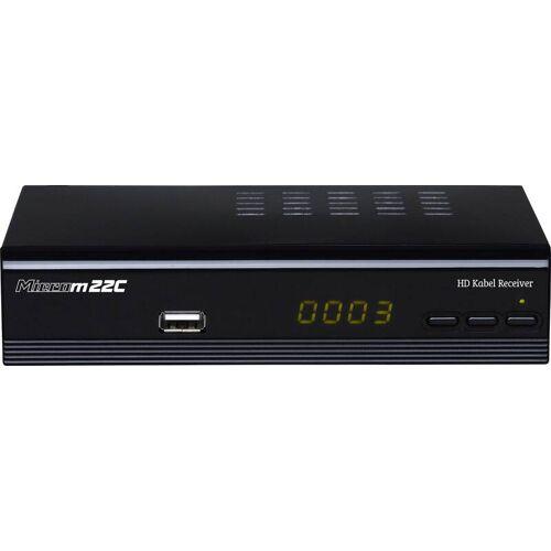 microelectronic Digitaler Full HD Kabelreceiver mit USB Mediaplayer