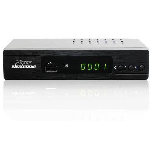 microelectronic Digitaler Full HD Satelliten Receiver m310plus mit USB Anschluss, uvm.