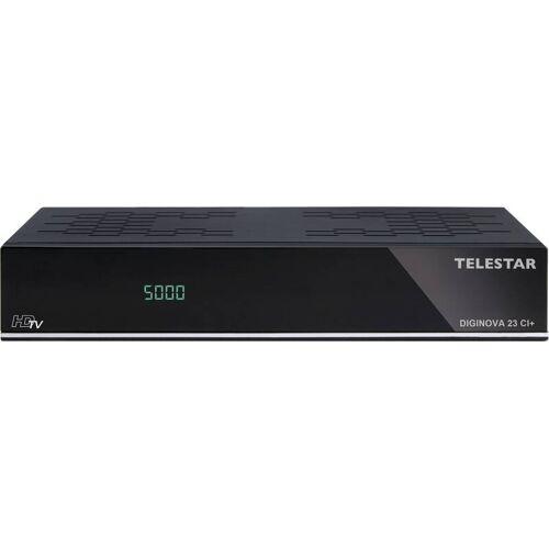 Telestar Combo HD Receiver Diginova 23 CI+ (DVB-S2, DVB-T2, DVB-C, CI+, Web Radio, PVR ready, HDMI, USB, LAN) schwarz