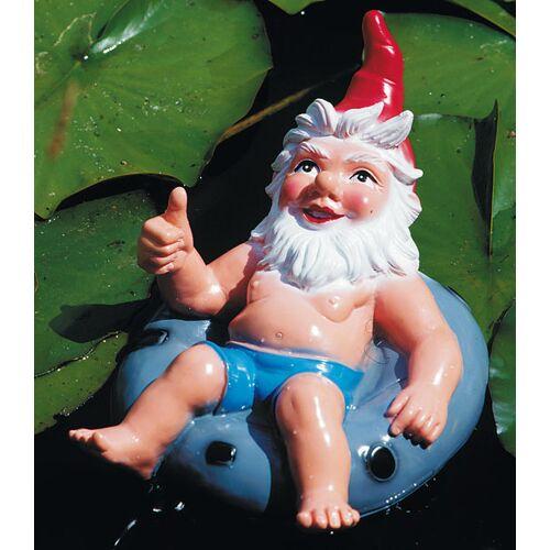 Westfalia Zwerg im Schwimmring schwimmend - Schwimmfigur - 35 x 24 cm