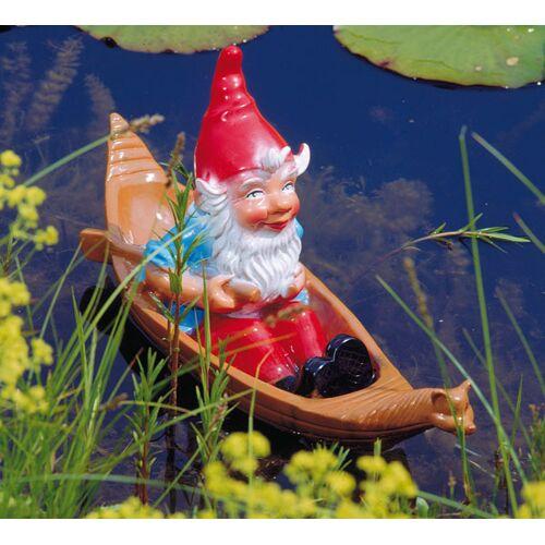 Westfalia Zwerg im Boot schwimmend - Schwimmfigur - 51 x 15 cm