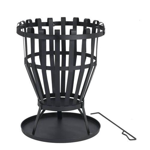 Tepro Feuerkorb Williston - ca. 45 cm Ø, schwarz