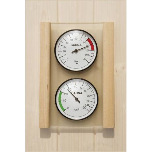 Weka Hygrometer und Thermometer Set