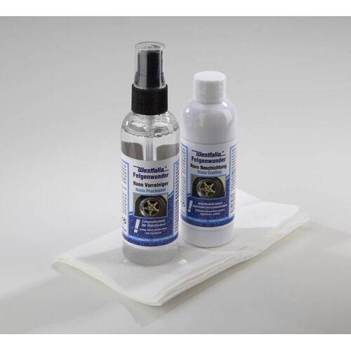 Nano Felgenbeschichtung 100 ml und Vorreiniger 100 ml mit Poliertuch