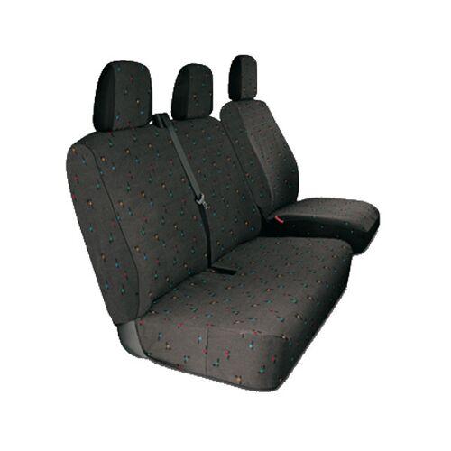 Westfalia Sitzbezüge für Kleintransporter, grau, für CITROen, Fiat, Ford, Opel