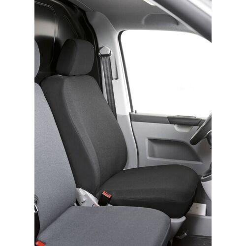 Walser Autositzbezug Toronto für Fahrer- oder Beifahrersitz anthrazit aus Stoff