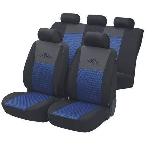 Walser Autositzbezug Racing blau