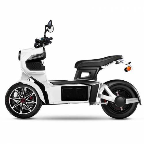 Doohan eGo2 Elektroroller E-Scooter-Trike, weiß