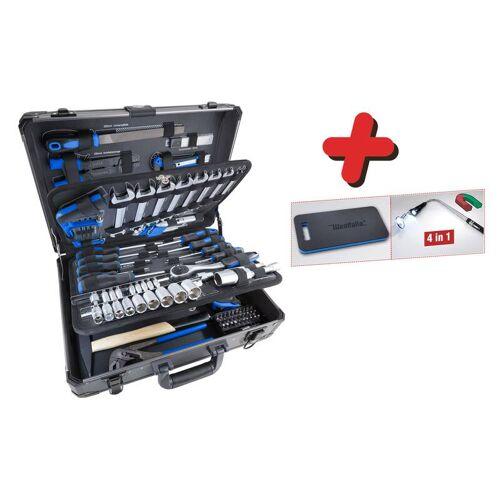 Westfalia Aluminium - Werkzeugkoffer 105-teilig 3/8 / 1/4
