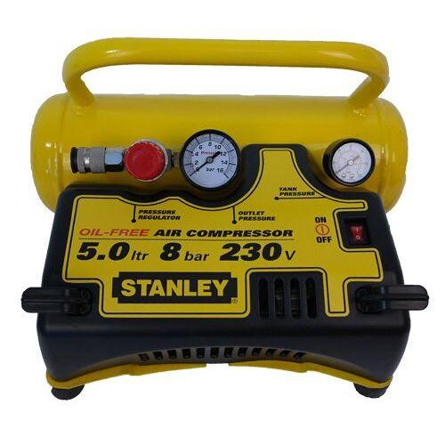 Stanley Druckluft - Kompressor 5 Liter DN55/8/5