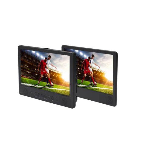 Denver Mobiler DVD Player mit 2 Bildschirmen