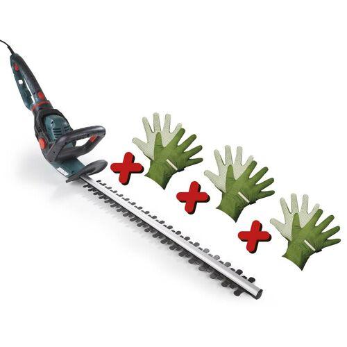 GartenMeister Elektro Heckenschere GM 5551, 550 Watt, mit 3D-Griff