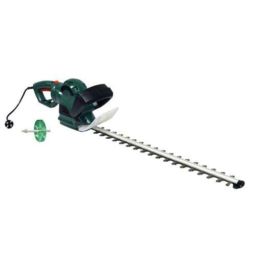 GartenMeister Elektro-Heckenschere GM 7160 inklusive Schärfvorsatz für Heckenschere, 2er Set