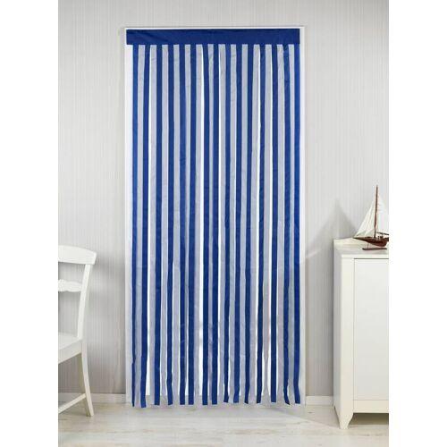 Wenko Türvorhang blau-weiß