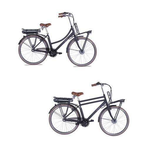 Llobe City-E-Bike Rosendaal 2, Damen, schwarz 10,4 Ah