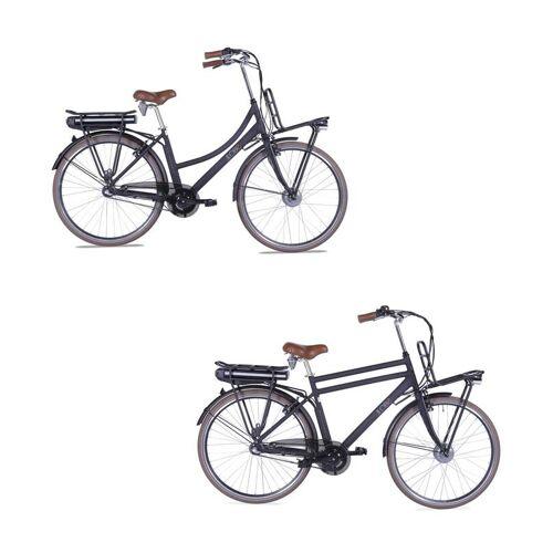 Llobe City-E-Bike Rosendaal 2, Damen, schwarz 13,2 Ah