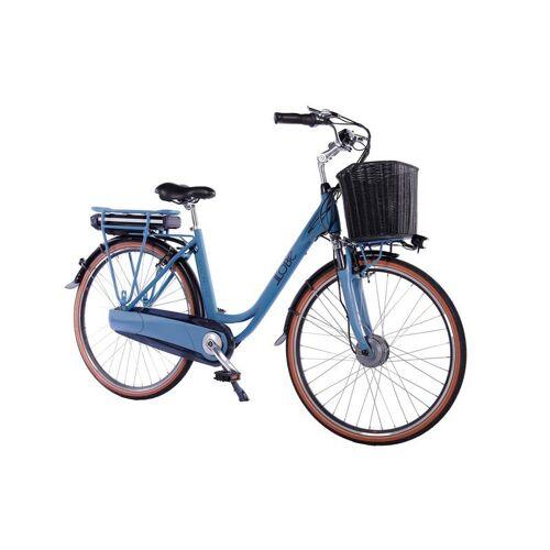 Llobe Alu Elektro City Bike 28 Zoll, Blue Motion 2.0, 10,4 Ah