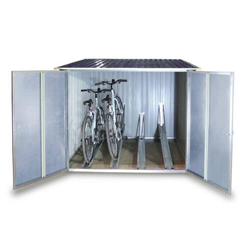 Tepro Fahrradbox für bis zu 4 Fahrrädern