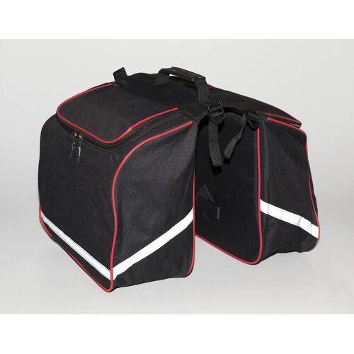 Fahrrad Gepäckträgertasche doppelt