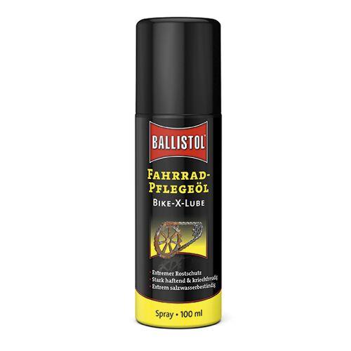 Ballistol Kettenöl Spray Bike-X-Lube 100 ml, Pflegeöl für das Fahrrad & Kontaktspray