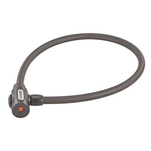 Prophete Kabelschloss mit Halter, Maße: 800 mm, Ø 15 mm, Laser-Cut Technologie, 1 Standard Schlüssel + 1 LED-Schlüssel