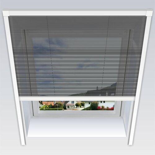 Westfalia Uno-Insektenschutz-Plissee, 134 x 160 cm für Dachfenster