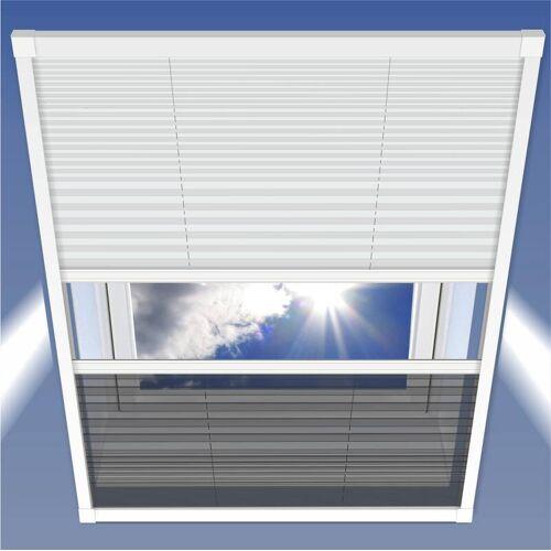 Westfalia Insektenschutz & Sonnenschutz Plissee, 114 x 160 cm für Dachfenster