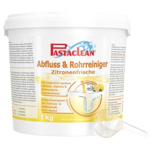 Pastaclean Abfluss- und Rohr-Reiniger, Pulver mit Zitronen-Duft, 1 kg