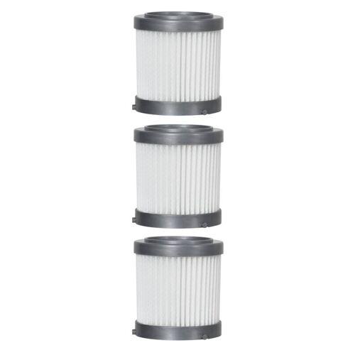 Livington Ersatz-HEPA Filter, 3 Stück, zu 3in1 Akku Staubsauger Prime 887904