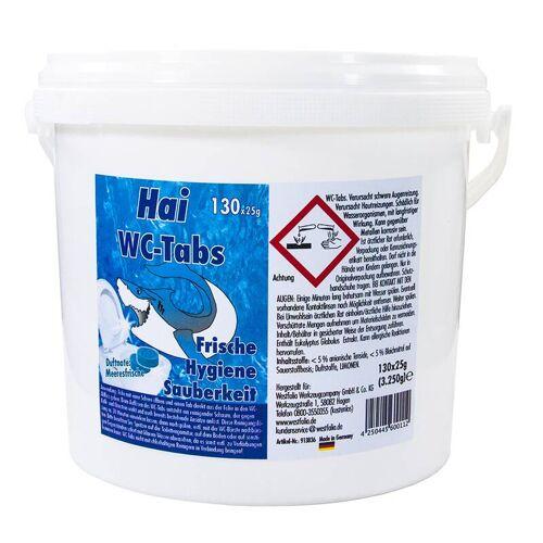 Hai WC-Tabs,  Meeresfrische, 130 Stück