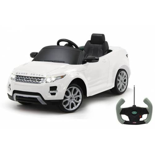 Jamara Ride-on Land Rover Evoque weiß 27 MHz 6V