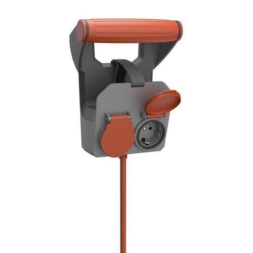 REV Kabelhalterung Roll On mit 10m Gummileitung