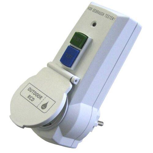 Westfalia Personenschutz Stecker mit FI IP44 - Steckdose mit Kinderschutz