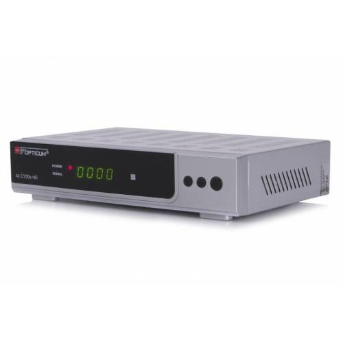 OPTICUM Digitaler Full HD Kabelreceiver mit USB Anschluss