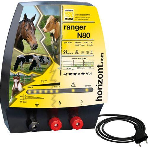 Horizont Weidezaungerät ranger N80 230 Volt mit 2 Zaunausgängen