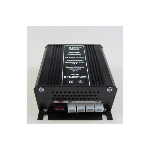 hawi® Spannungswandler 24V - 12V - 15 Ampere