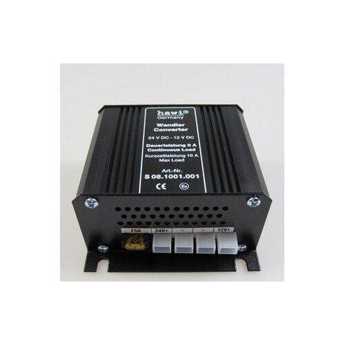 hawi® Spannungswandler 24V - 12V - 8 Ampere