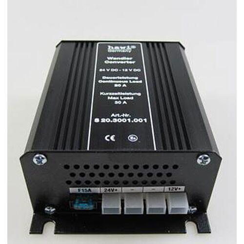 hawi® Spannungswandler 24V - 12V - 20 Ampere