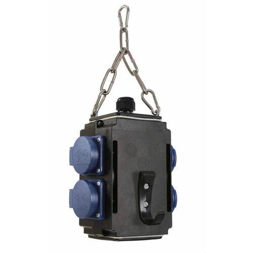 AS Schwabe Energiewürfel I+ 4 Steckdosen 230V, mit Druckluftanschluss