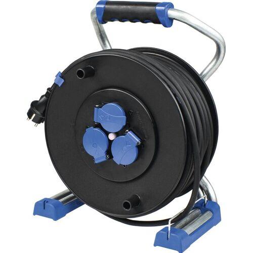 AS Schwabe Kabeltrommel Xperts 320mm, 50m, H07RN-F 3G1,5, IP44, DGUV-I 203-006