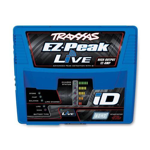 Traxxas EZ-Peak Live bis 12-Amp NiMH/Lipo bis 4S, Schnell-Lader TRAXXAS EU-Version (mit iD Akku-Erkennung)